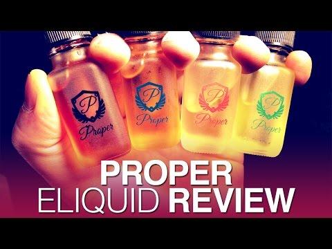 Daily Vape TV- Proper Eliquid Review
