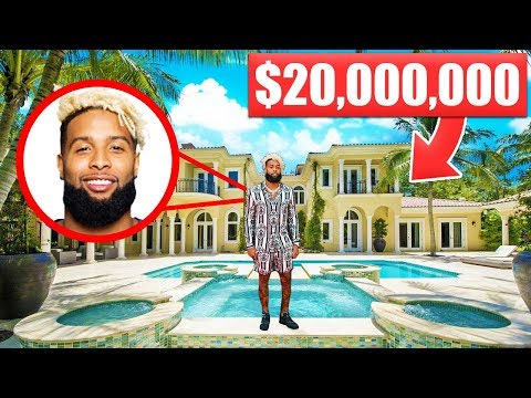 13 NFL Mansions That Cost More Than Your Life… Odell Beckham Jr | Aaron Rodgers | Colin Kaepernick
