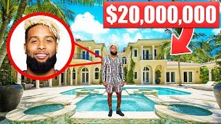 13 NFL Mansions That Cost More Than Your Life... Odell Beckham Jr | Aaron Rodgers | Colin Kaepernick
