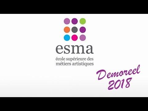 ESMA School - Demoreel (2018) - CG & FX School in France