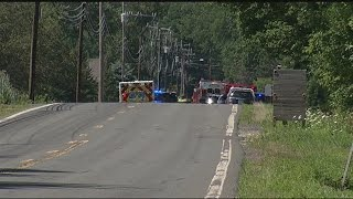 Woman killed in crash between car, dump truck in Deerfield