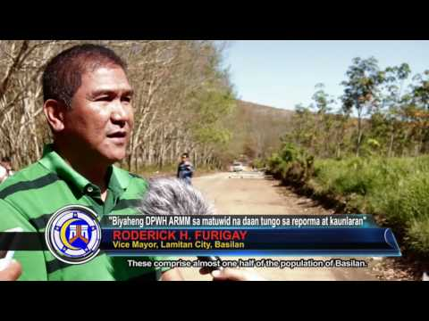 Roads and Port Projects for Lamitan City, Basilan
