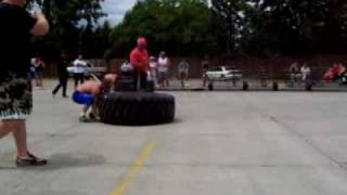 Strongman U.S. 231lbs Nationals in Utah, destroying his competition is Robbie Walden
