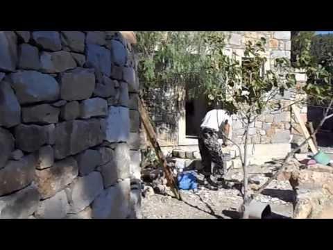 Строим каменный дом 1. Круглые ступени.