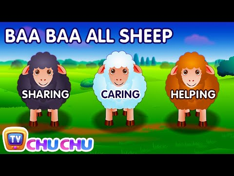 Baa Baa Black Sheep Chu Chu Tv Rhymes