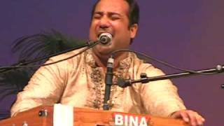 Rahat Fateh Ali Khan Teri Ore Live 2010 in Holland