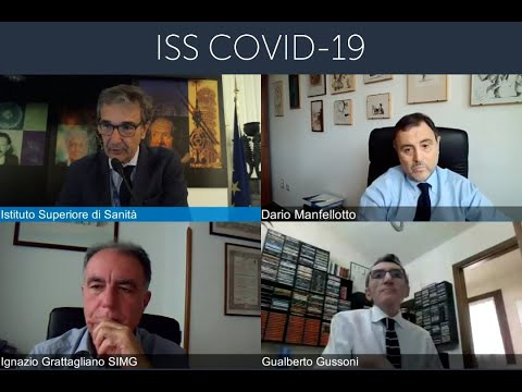 ISS   Meeting scientifico CoVID-19 n. 25 del 15 luglio 2020