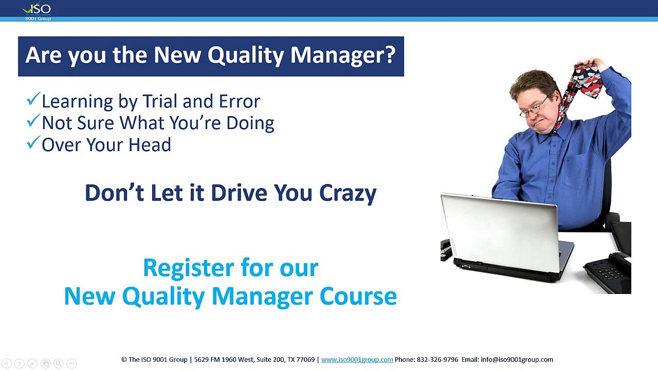 Quality manager jobs iso 17025