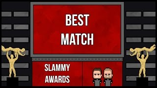 WWE 2K17   Universe Mode Series 1 - SLAMMY AWARD NOMINATIONS (BEST MATCH)