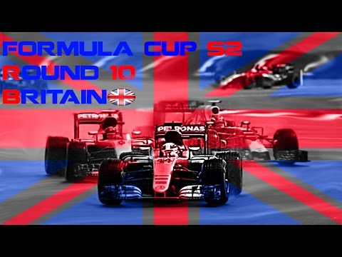 F1 2016 Formula Cup S2 Round 10 britain A special race