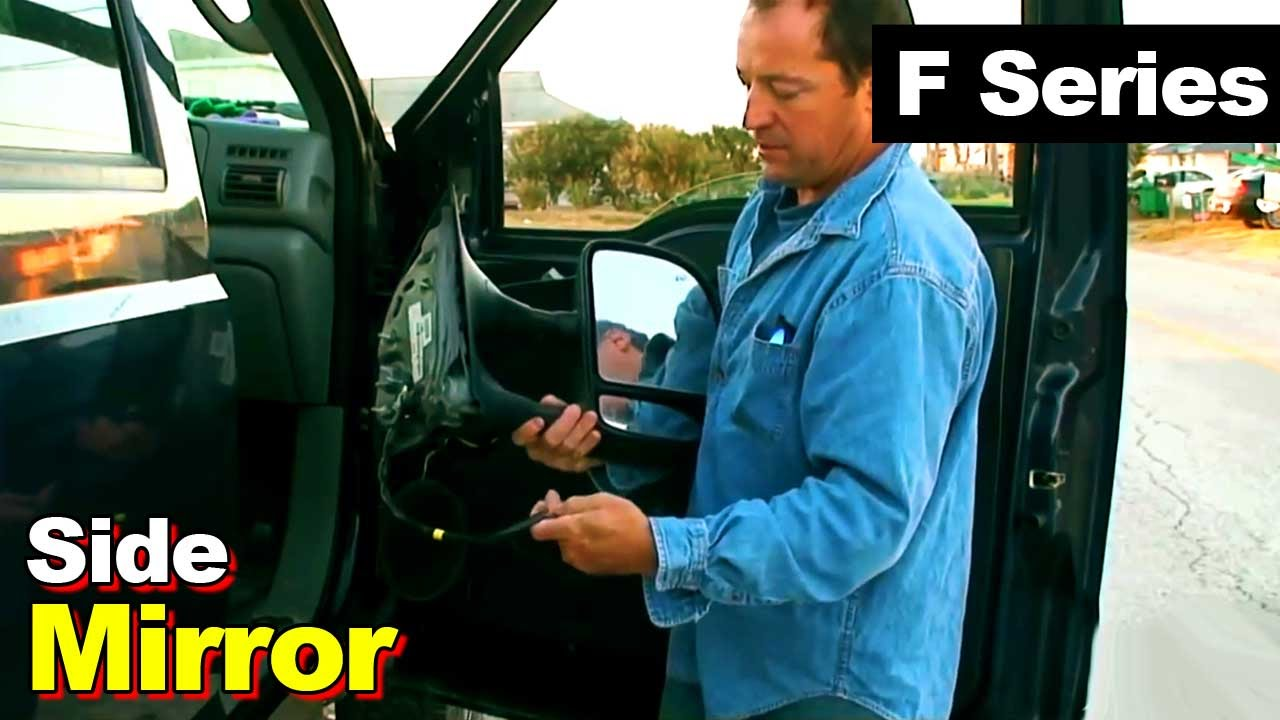 Ford F Series Side Mirror Youtube 2005 250 Wiring Harness