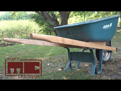 New Wheelbarrow Handles