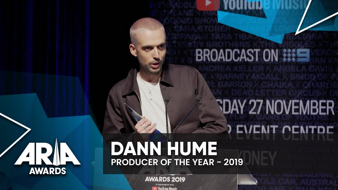 Dann Hume: Producer Of The Year | 2019 ARIA Awards