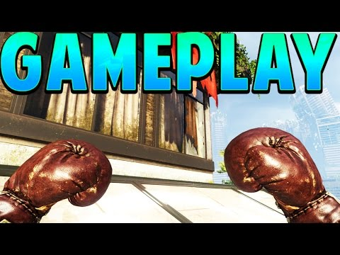 """NEW """"BOXING GLOVES GAMEPLAY"""" in Black Ops 3 (NEW DLC WEAPON)"""
