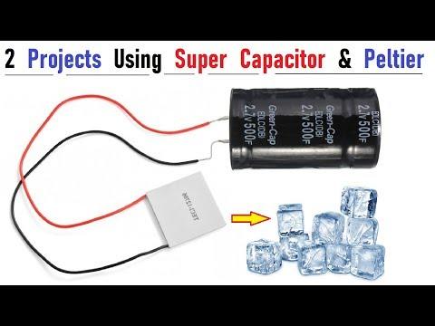 2 Unique Ideas Using Super Capacitor & Peltier