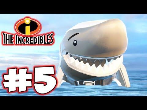 LEGO INCREDIBLES - Part 5 - Shark Attack! (HD Gameplay Walkthrough) thumbnail