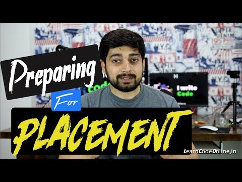 How To Prepare For IT Placement Aka Jobs