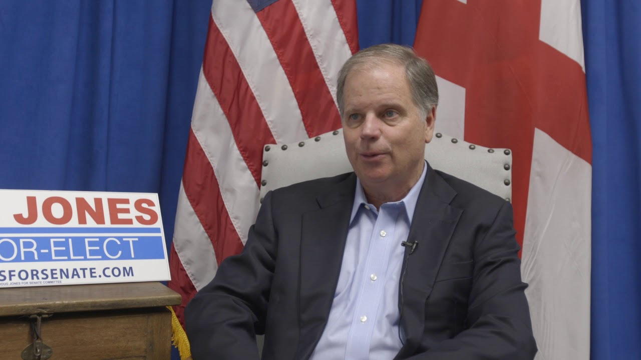 Doug Jones, Alabama's Senator-Elect, sits down with us for an interview