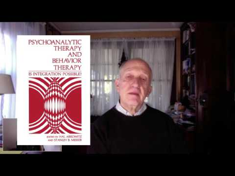 Stanley Messer On Brief Psychodynamic Therapy And Psychotherapy Integration