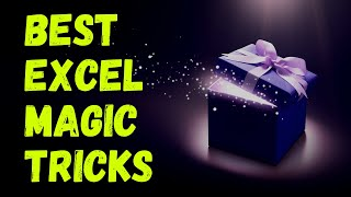 These 10 Magical tricks of Excel will make you a Magician | Video 16