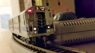 1st video of the new mth ho scale subway set