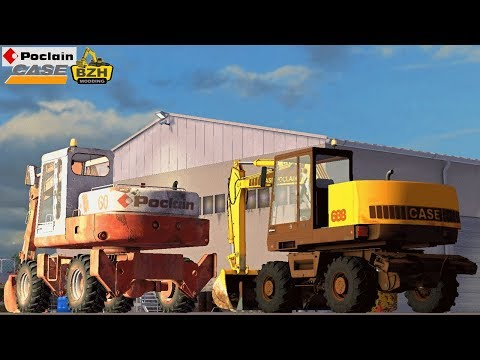 FS17 Travaux Publics - CASE POCLAIN 688 (PC) By Fredzaza