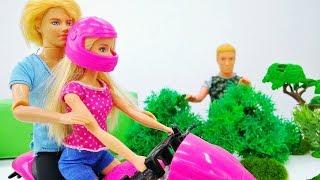 Barbie & Ken. Barbie Bike: Motorcycle.