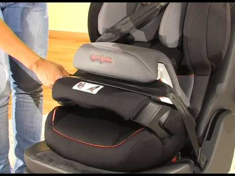 cybex juno fix kindersitz gr 1 youtube. Black Bedroom Furniture Sets. Home Design Ideas