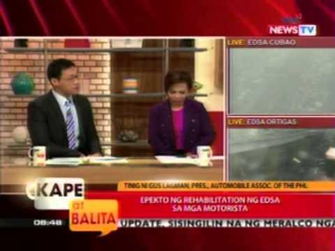 KB: Perwisyong posibleng idulot ng EDSA rehabilitation plan ng DPWH, paano maiibsan?