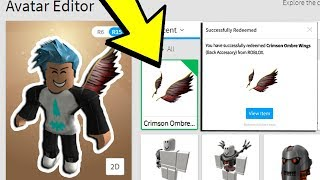 I OWN ROBLOX'S RAREST WINGS! *EXCLUSIVE*