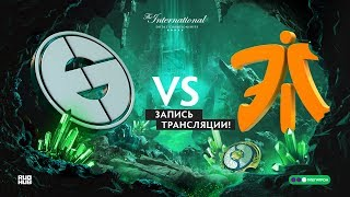 EG vs Fnatic, The International 2018, Group stage, game 1