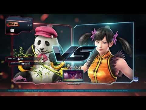 Tekken 7 PS4 Panda Arcade Playthrough