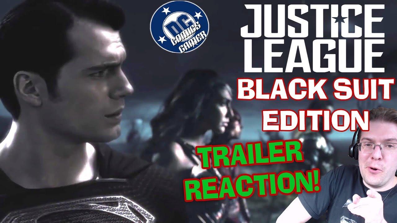 justice league black suit edition