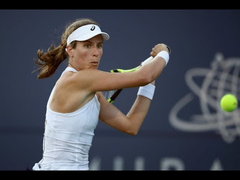 Johanna Konta | 2018 Mubadala Silicon Valley Classic Day 2 | Shot of the Day