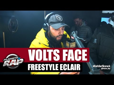 Youtube: Volts Face – Freestyle éclair #PlanèteRap