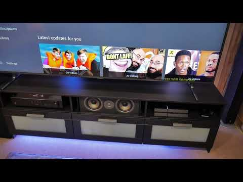 Ikea Brimnes Tv Stand Perfect For A Big Tv Youtube