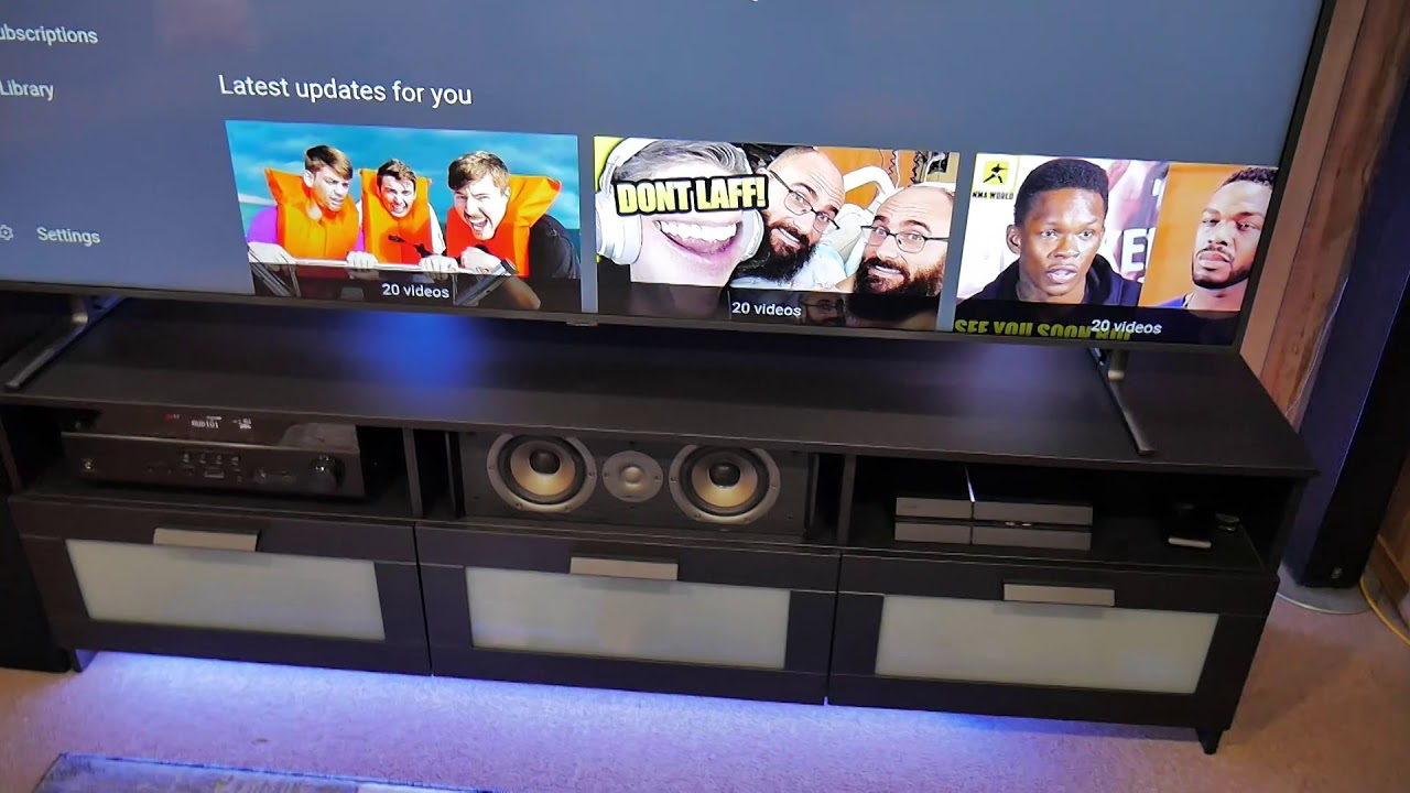 Off White Tv Kast.Ikea Brimnes Tv Stand Perfect For A Big Tv Youtube