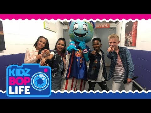 KIDZ BOP Life UK: Vlog #2 - Backstage At The Harlem Globetrotters with Ashton