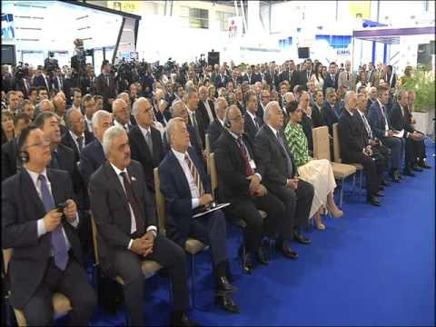 """İlham Əliyevin XXII Beynəlxalq """"Xəzər Neft və Qaz 2015"""" sərgisinin açılışında nitqi"""