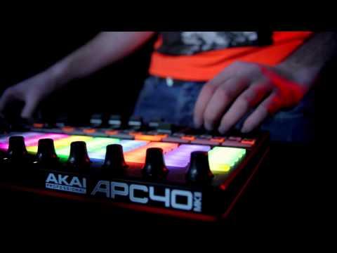 Ray Porter live @ Akai APC 40 MK2 & Ableton Live [PROMO VIDEO]