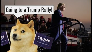 "Going to the Trump Rally in MN!!  /  How to ""do"" a Trump Rally"