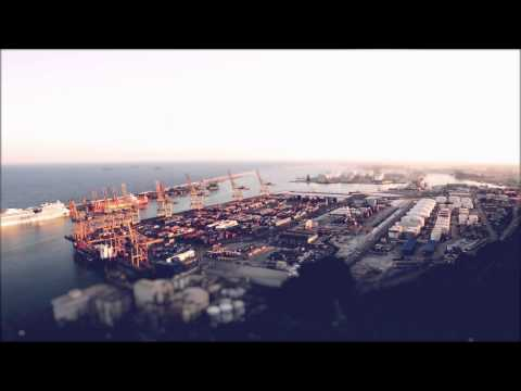 Barcelona's Industrial Docks in timelapse