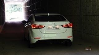 2014 Hyundai Elantra ( Avante) Test Drive ( 1.6 Liter Diesel)