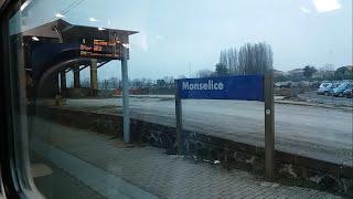 HD - Viaggio sulla Padova - Bologna: Arrivo alla stazione di Monselice (parte 1)