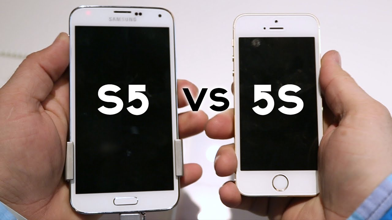 Samsung S5 Of Iphone 5s