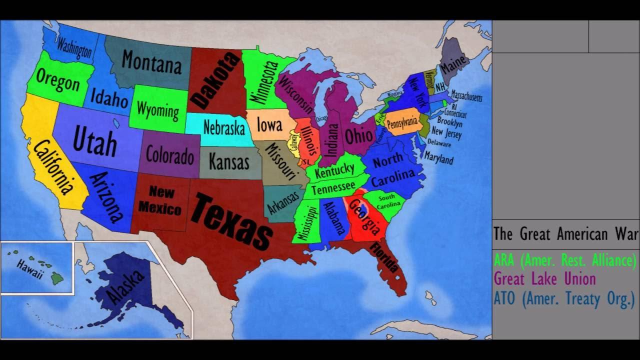 Alternate Future Of Usa Ep 3 Texas Texas Texas Youtube