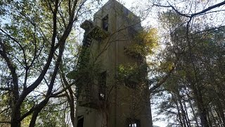 Urban Exploration: Secret Hidden Abandoned Tower and Bunker in Middle of Woods!
