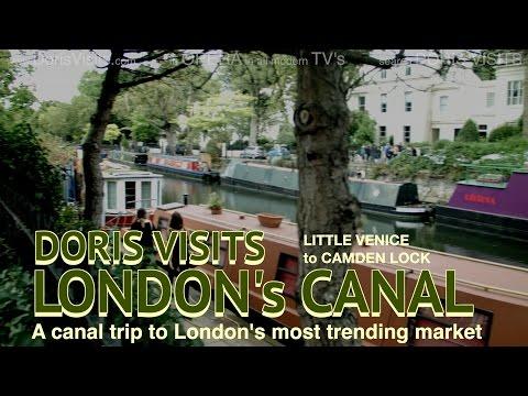 Doris Visits London. Canal Boat tour Little Venice to Camden.