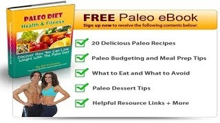 Free Paleo Diet Recipe Cookbook + 20 Free Paleo Diet Recipes