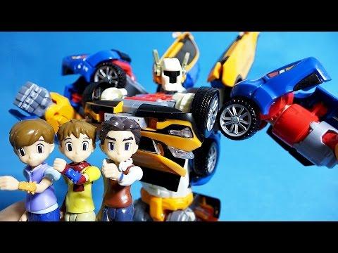 또봇 X Y Z 트라이탄 하나두리세모 또봇 변신 놀이 다이노포스 장난감 Tobot XYZ Tritan toys